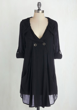 Busy Week Tunic in Black