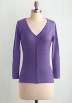 Charter School Cardigan in Orchid