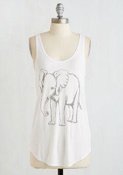 Elephant Celebrant Top