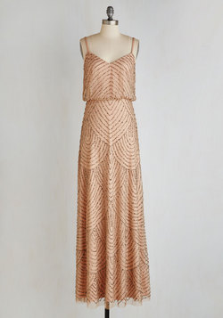 Calling All Romantics Dress in Cafe au Lait