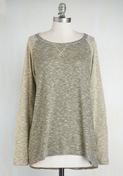 One, Two, Three, Knit It! Top in Sand