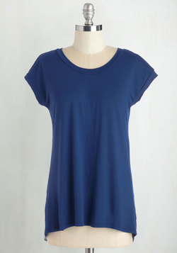 For the Coast Part Top in Navy