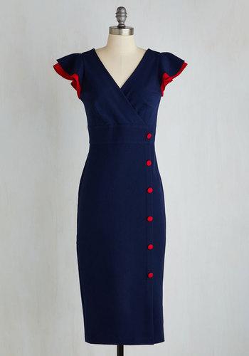 The Harbor I Try Dress $174.99 AT vintagedancer.com