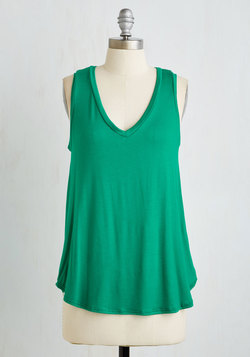 Endless Possibilities Top in Kelly Green