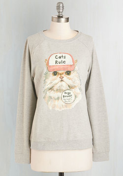 Speaker of the House-cat Sweatshirt