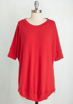 Best of Basics Top in Red