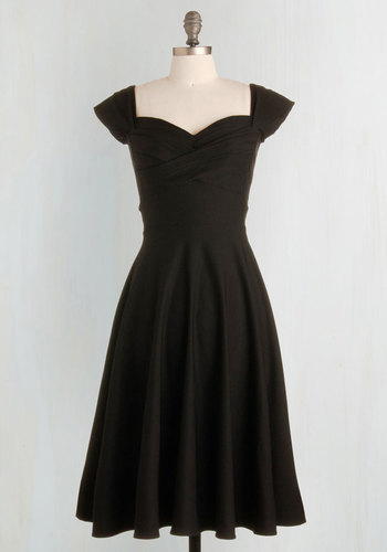 Pine All Mine Dress in Noir $179.99 AT vintagedancer.com