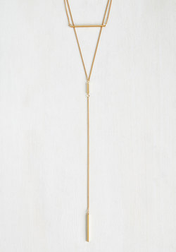 Sleek Simplicity Necklace