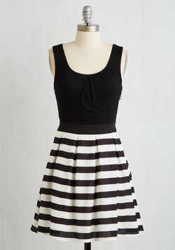 Stripe Cast Dress