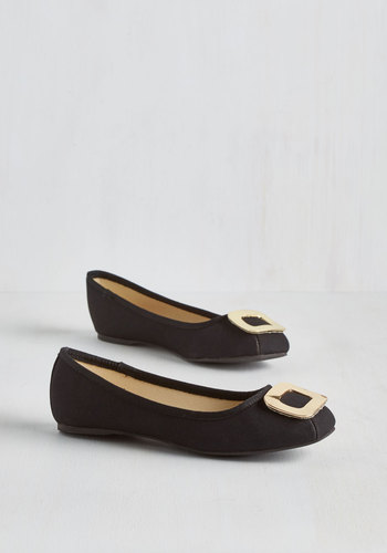 Only Thames Will Tell Flat in Black $49.99 AT vintagedancer.com