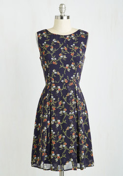 A Lady's Best Frond Dress in Flowers