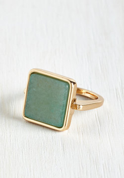 Amazonite and Day Ring