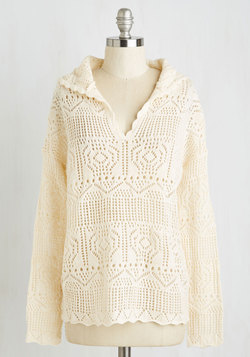Just Comes Neutrally Sweater