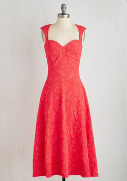 Prove Your Groove Dress in Strawberry