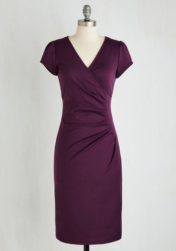 I Think I Can Dress in Plum $54.99 AT vintagedancer.com
