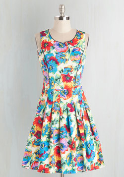 Tropical Rain Florist Dress