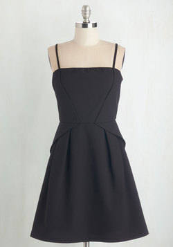 Start with Sophistication Dress in Black