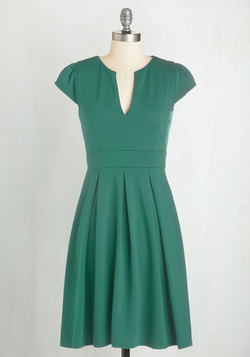 Meet Me at the Punch Bowl Dress in Jade