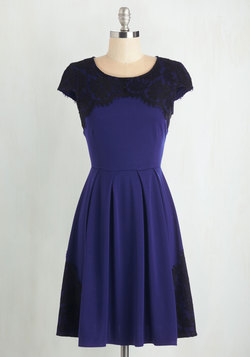 Intermission Impossible Dress in Royal Blue