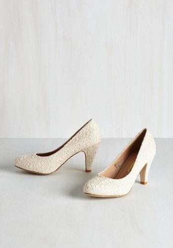 Im Sew Excited Heel in Ivory $39.99 AT vintagedancer.com
