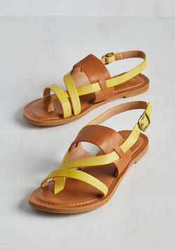 Gait and Good Sandal