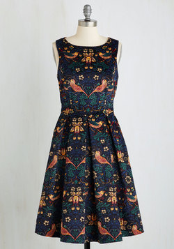 Partridge in a Flair Tree Dress