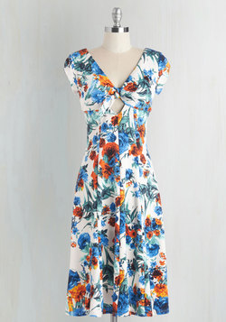 In the Spring of Things Dress in Floral