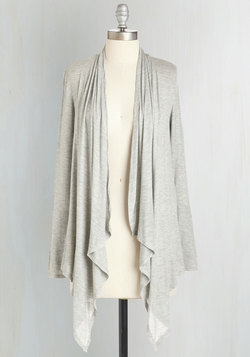 So Very Classic Cardigan in Grey