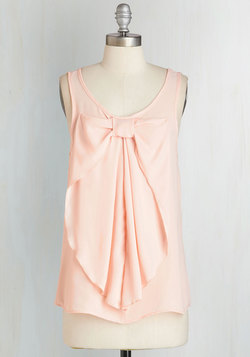 Hello, Bow! Top in Blush
