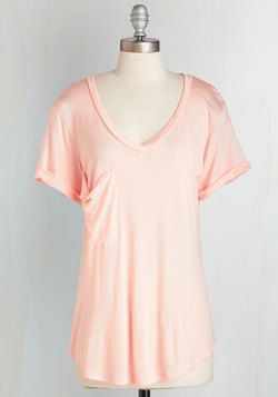 Awesome Sauce Tee in Peach