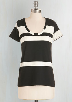 Striped Simplicity Top - Short Sleeves