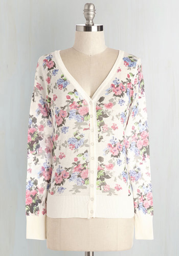 Floral I Want is You Cardigan