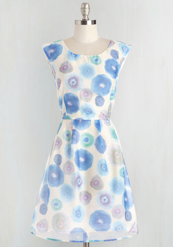 Meadow Merriment Dress in Watercolor