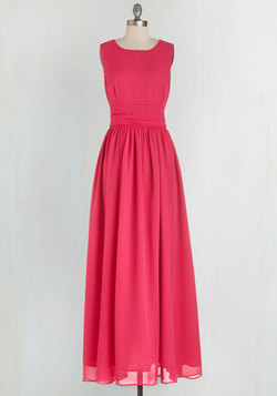 Dream Evening Dress in Carnation