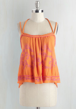 Oh The Places You'll Boho Top