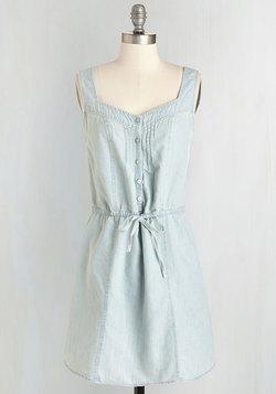 Catch Some Chambrays Dress