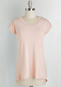 For the Coast Part Top in Rose