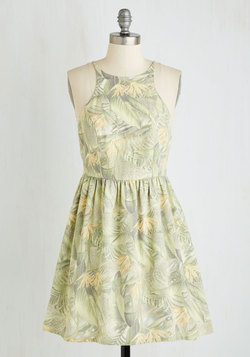 Fern Over a New Leaf Dress