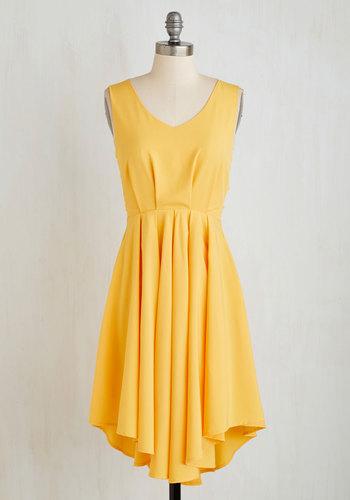 Dance in the Moonlight Dress in Citrus