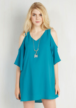 Flutter-ly Fabulous Dress in Teal