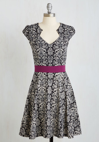 The Story of Citrus Dress in Damask