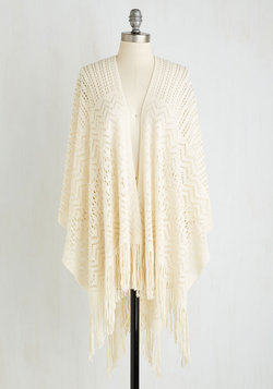 Shawl My Love in Ivory