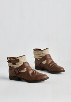 Can You Kick It? Bootie in Brown