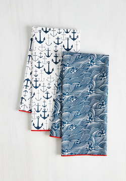 Home & Gifts - Craving Waves Tea Towel Set