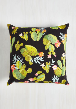 Cacti Affair Pillow