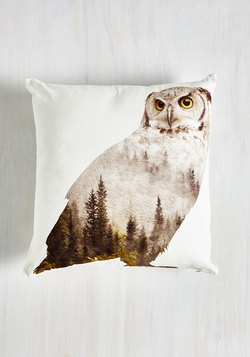 Hoot and Howler Pillow in Owl