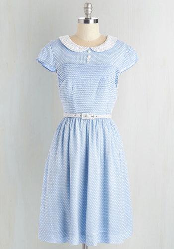 Confectioners Dream Dress in Sky $79.99 AT vintagedancer.com