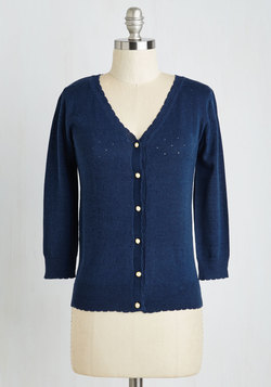 After School Lounging Cardigan in Navy