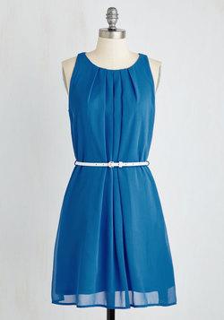 Great Wavelengths Dress in Blue