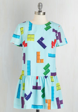 Puzzle and Flow Dress